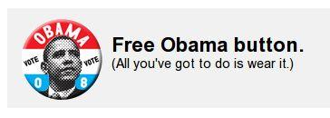 Free Obama Button