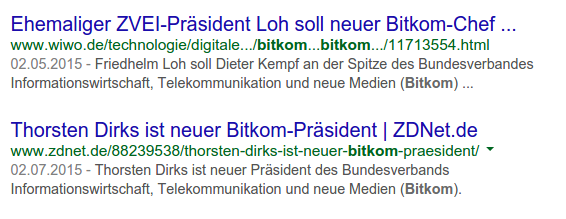 Dirks neuer Bitkom-Präsident