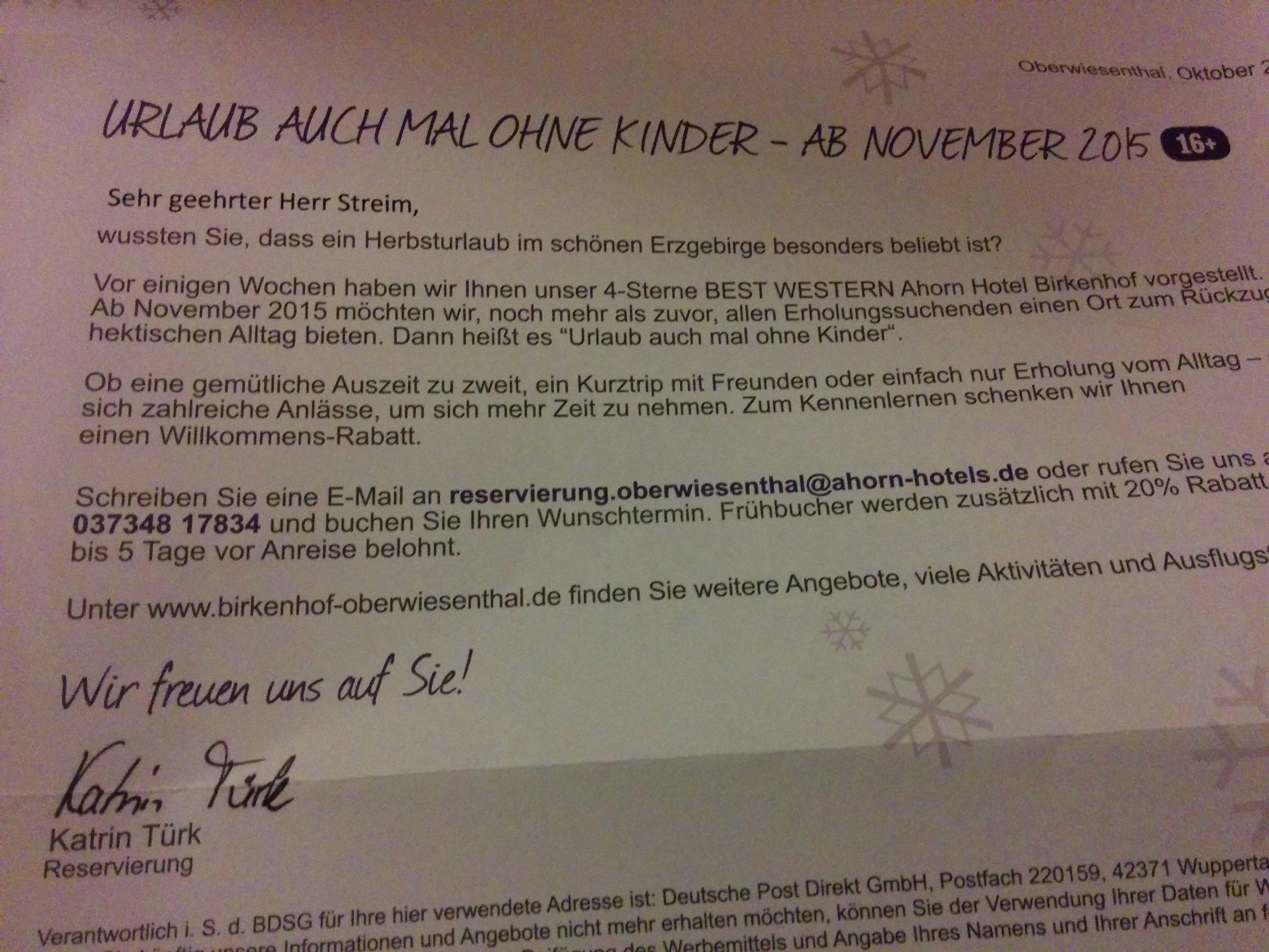 Urlaub Auch Mal Ohne Ahorn Hotel Andreas Streim